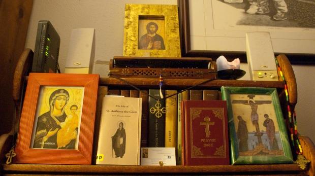 My Icon Corner (© John Gresham)