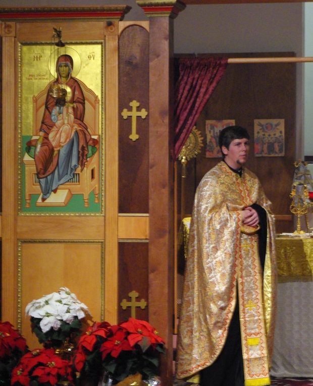 Fr. James Purdie, Priest of St. Basil the Great Antiochian Orthodox Church.  My guide int this journey.  (C) John Gresham