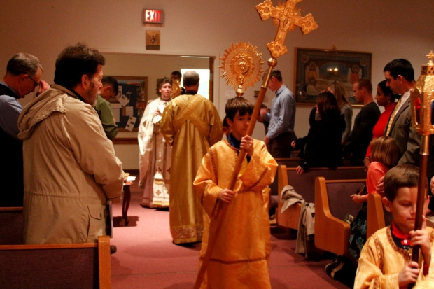 The Great Entrance of the Divine Liturgy