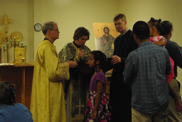 Taking the Eucharist