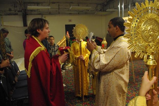 Fr. James Purdie & Sub Deacon Paul Abernathy